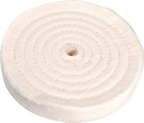"Plastics 1//2"" Bore -Polishing Metals Rubber NEW Enkay 6"" Cloth Buffing Wheel"