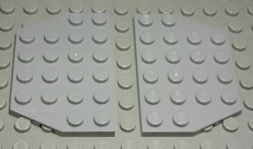 1504 Lego Platte schräg 4x6 new Grau 2 Stück