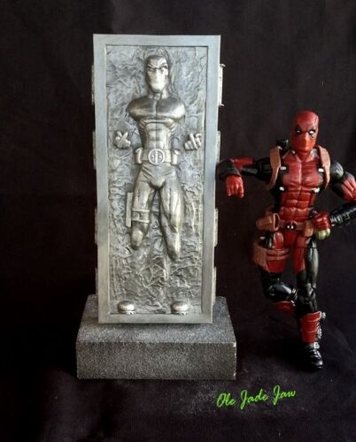 New Custom Deadpool 2 Carbonite Marvel legends star wars noir SAN DIEGO comic-con Han Solo