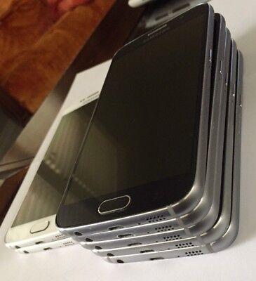 Samsung Galaxy S6 UNLOCKED SM-G920R4 32GB US Cellular ANY GSM Black Sapphire