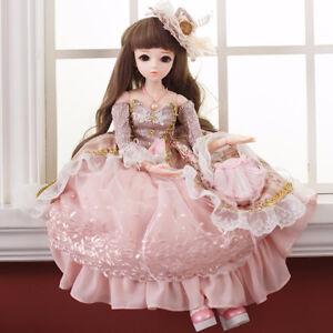 BJD 60CM Elegant Doll Toys 1 3 SD Dolls W  Clothes Handmade Beauty ... 6e12b37eb861
