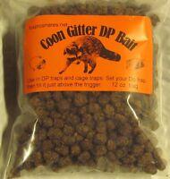 Coon Gitter Dp Bait 12 Oz. Bag Works Good In Dp & Cage Traps , Raccoon Sale
