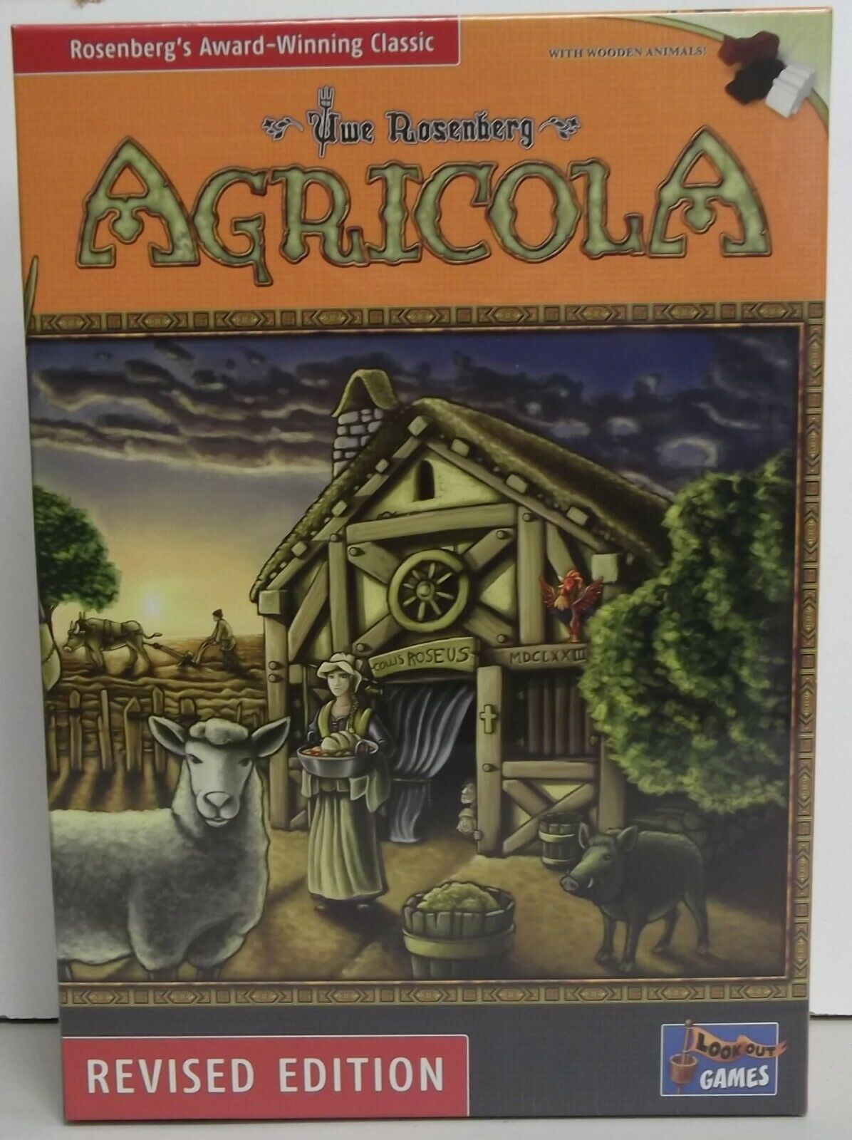 Agricola Board Game - Revised Edition - LK0028