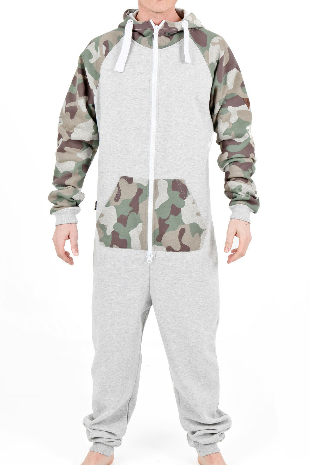 Huge assortment of mens footed pajamas with themes that include Star Wars, Star Trek, DC and Marvel Comics, Cartoons, and many more popular patterns.