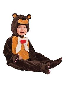 14c4b1c22edb Details about Infant Baby Boys   Girls Unbearably Cute Teddy Bear Suit  Costume Jumper   Hat