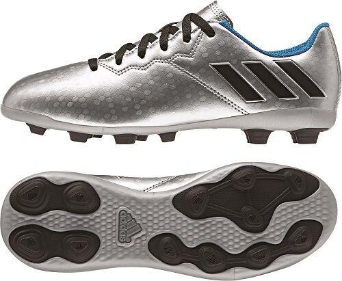 82e7eb9937af adidas Messi 15.4 TF Astro Turf Kids Football Soccer Trainer Black/red UK 4  for sale online | eBay