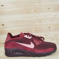 Nike Air Max 90 Ultra 2.0 Flyknit Shoes Team Red Mens Size 10.5 875943 601
