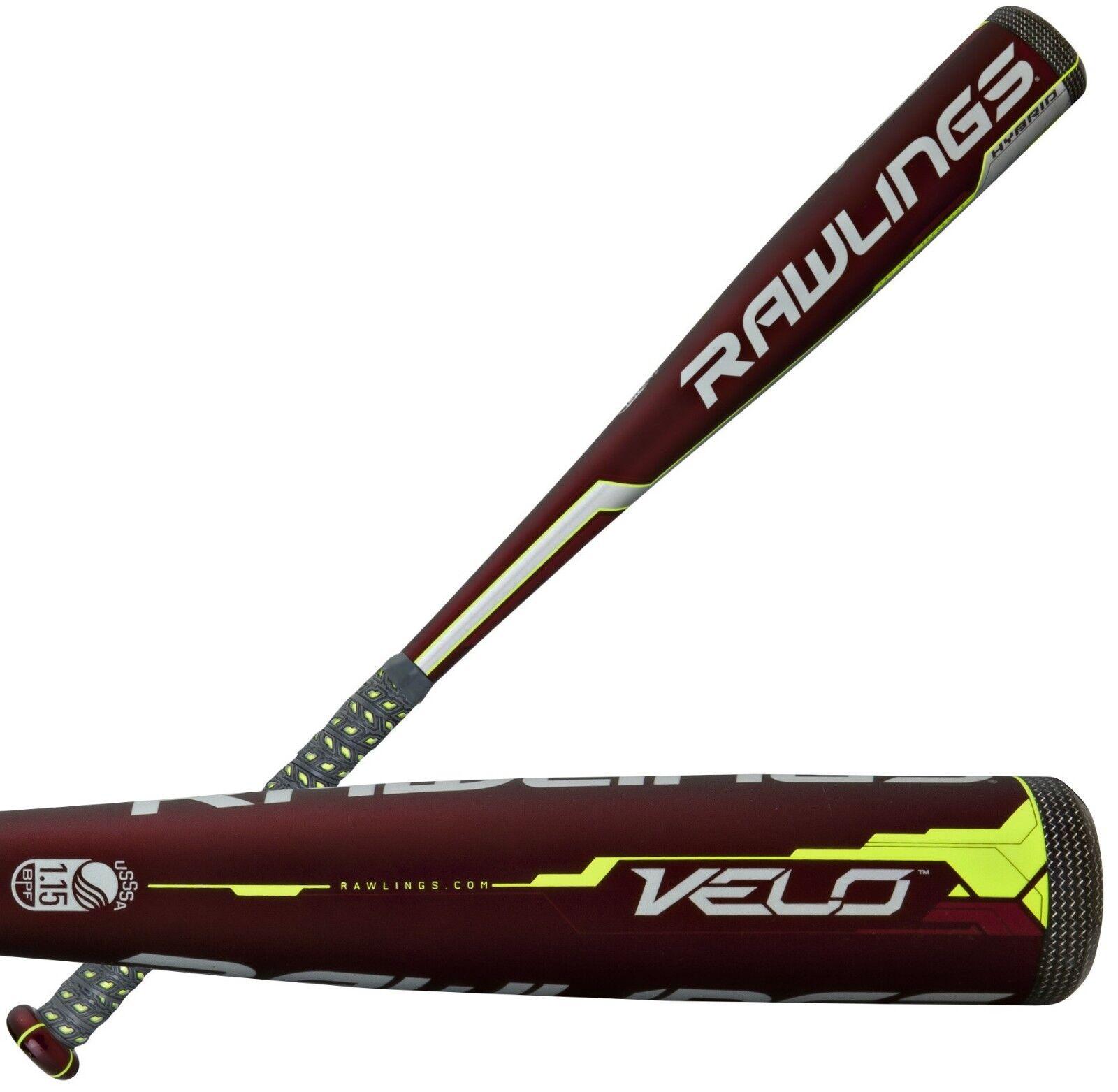 Rawlings velo -10 30  20 OZ Juvenil Senior Liga bate de béisbol SL7V10