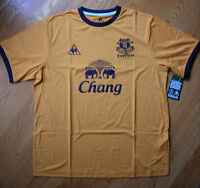 Everton Yellow (m,l,xl) Sh/s 2011/12 Soccer Football Shirt Jersey Le Coq Sportif
