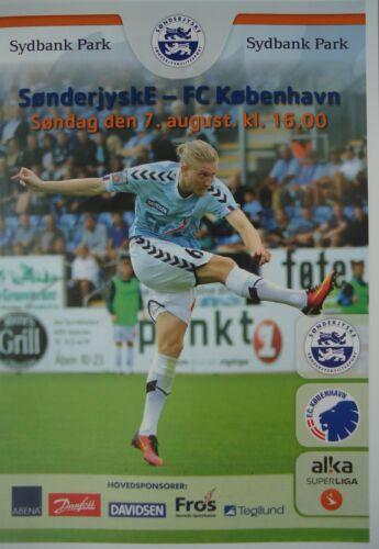 FC Kopenhagen Programm Dänemark 2016//17 SonderjyskE