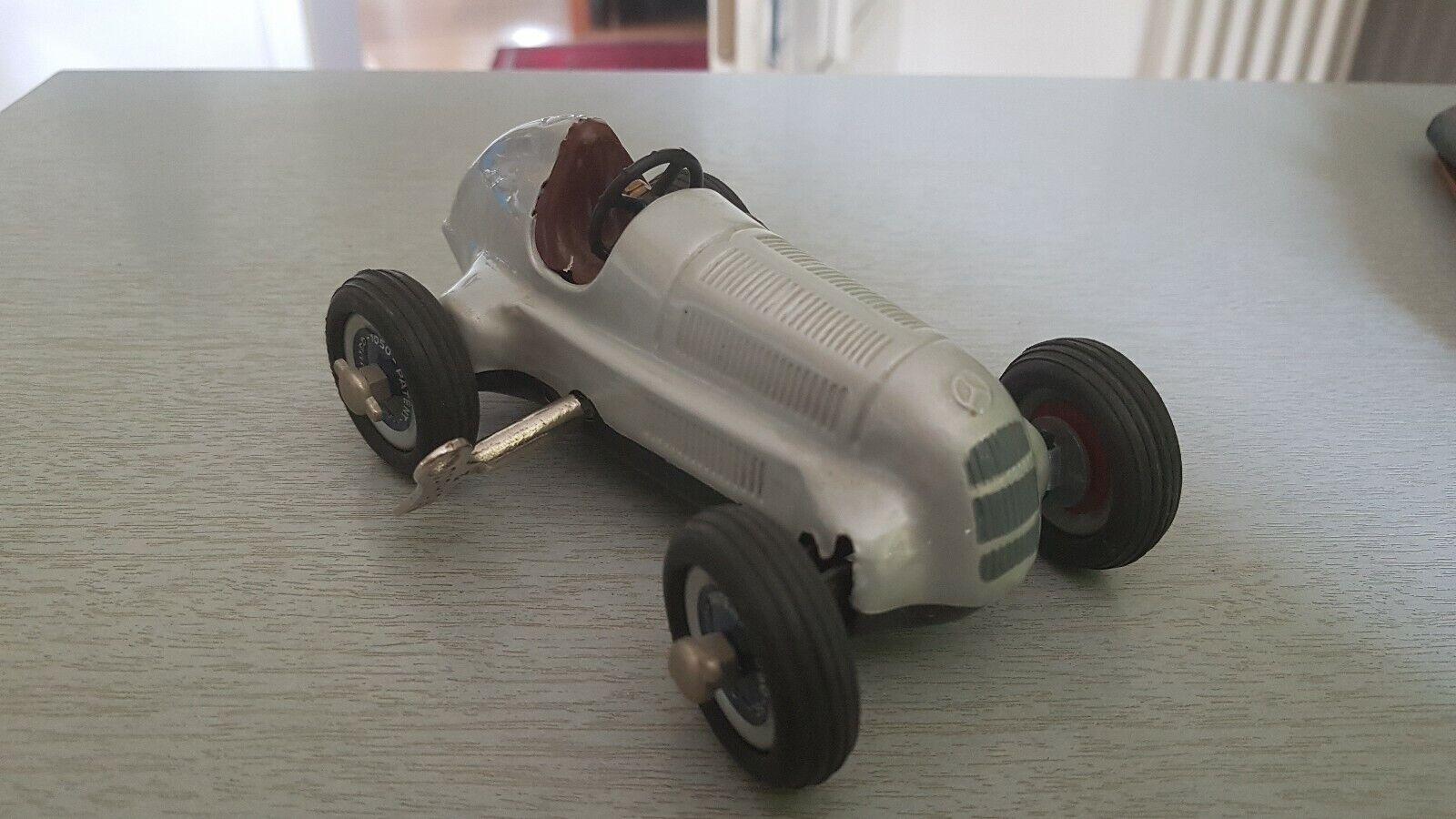 Modelauto Schuco Montage-Grand-Prix Nr. 2098 Mercedes 1936, Vitrinenmodell