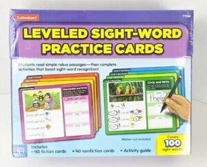 Lakeshore Learning Leveled Sight-Words Practice Cards Grades K-1 Brand New TT298