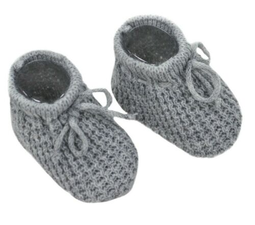 Baby Boys Girls 1 Pair Knitted Booties Mesh Baby Booties 0-3 Months S401