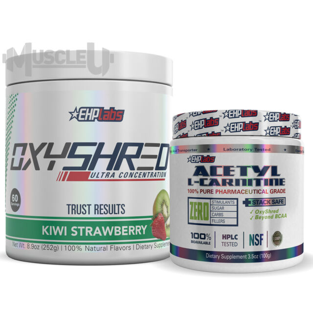 EHPlabs OxyShred + Acetyl L-Carnitine - CHOOSE FLAVOUR - EHP Labs Oxy Shred ALC