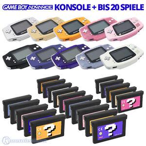 Nintendo-Gameboy-Advance-GBA-consola-entre-otros-con-super-mario-Pokemon-o-Tetris