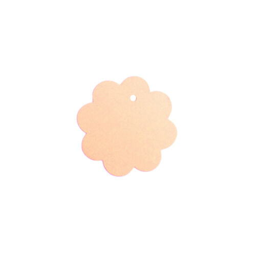 LIGHT PEACH UNSTRUNG FLOWER SHAPE CLOTHES//GARMENT REFERENCE STOCK TICKET// LABELS