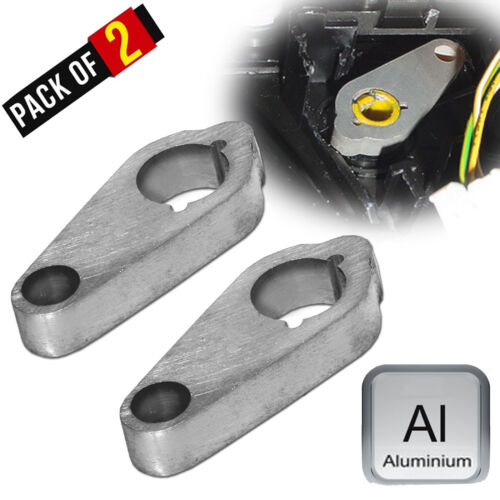 2 X SAAB 9-5 Heater Blend Door Stop Arm Left and Right Side Climate Control Arm*