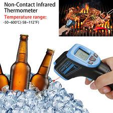 Infrared Thermometer Lcd Laser Temperature Gun Ir Temp Meter Non Contact Digital