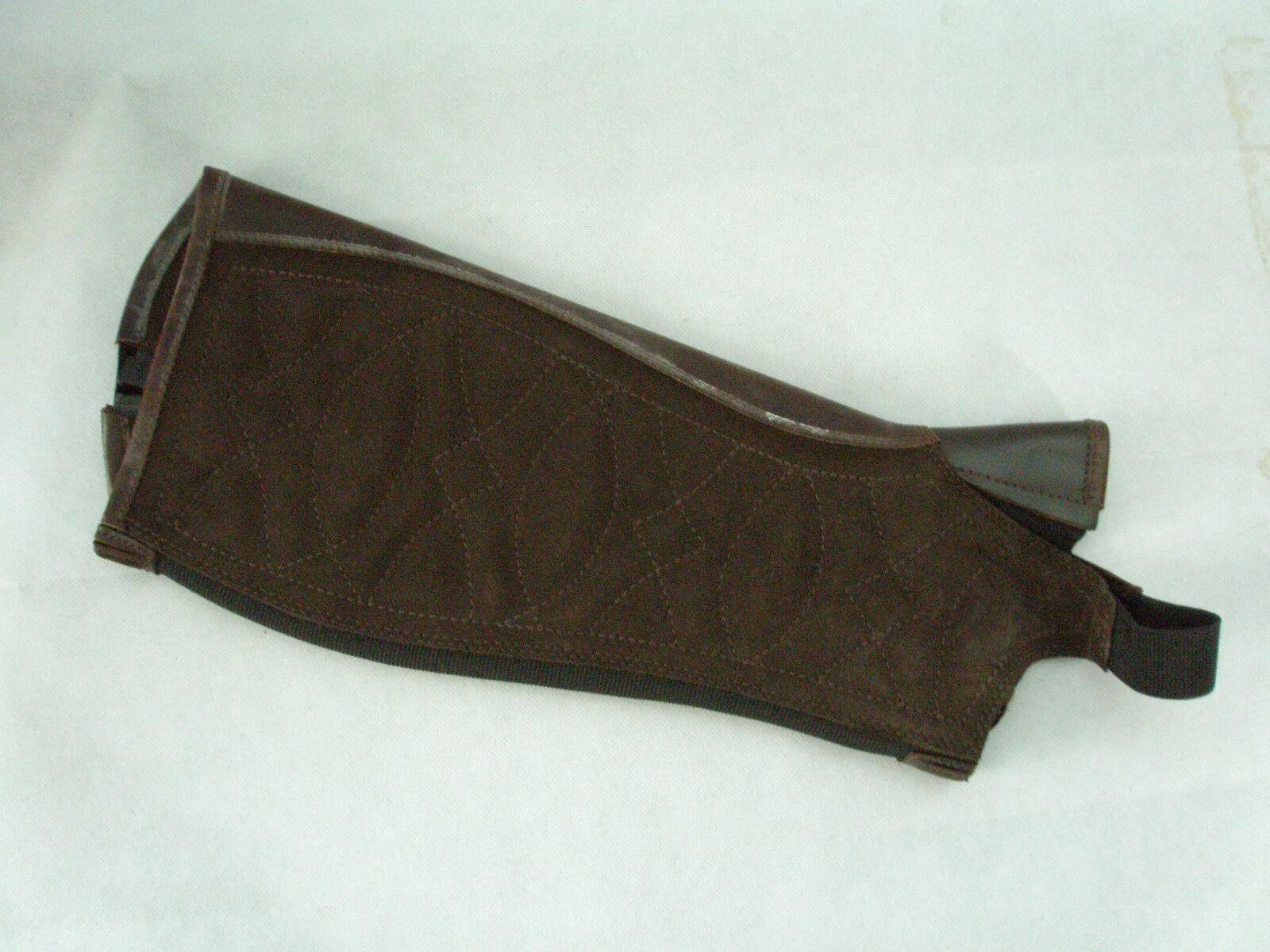 Ariat clásico de de de cuero III medio Chaps Polainas Negro Chocolate 417ef3
