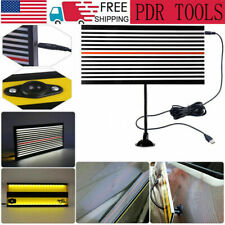 Pdr Led Line Board Paintless Hail Removal Usb Reflector Car Dent Repair Tools Us