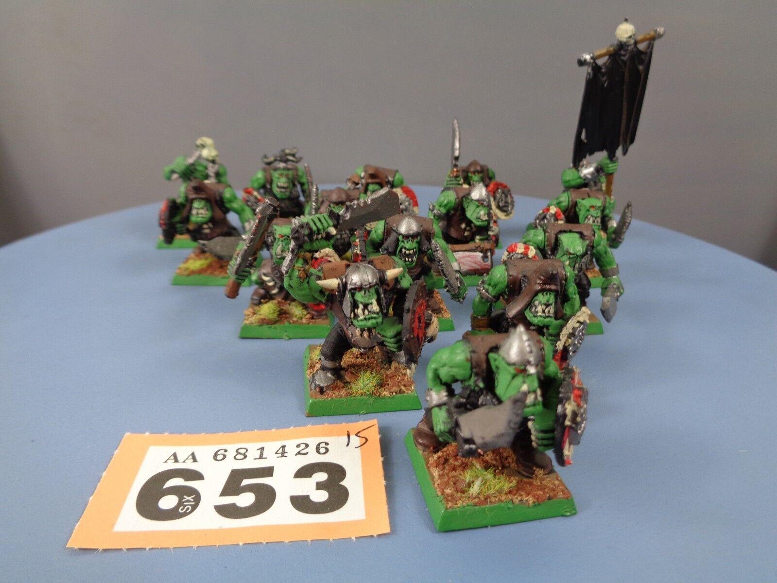 Warhammer Age of Sigmar Orruks Orcs Goblins Boyz Mob 653