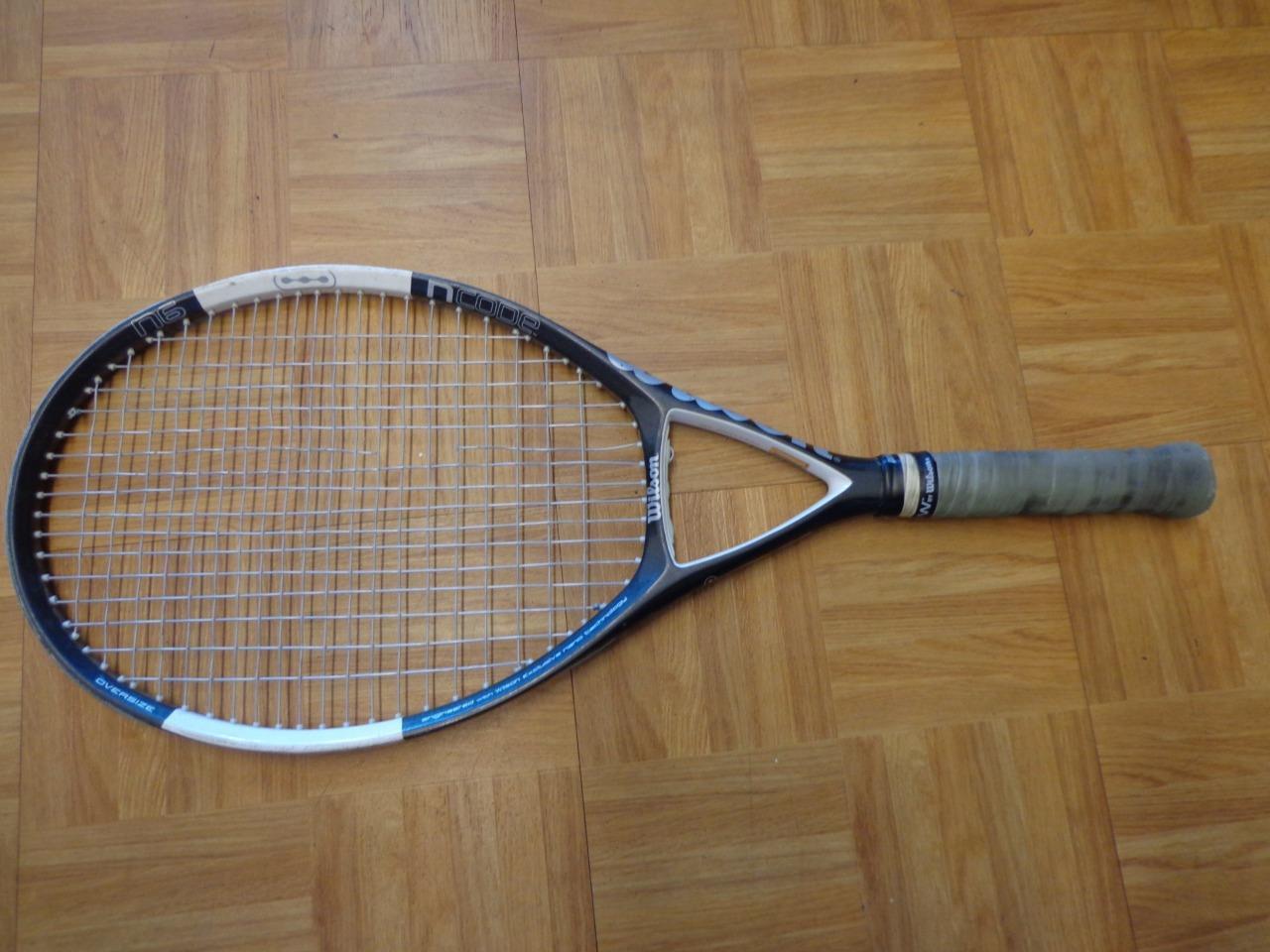 Wilson NCode N 6 Oversize 110 4 1 2 grip Tennis Racquet