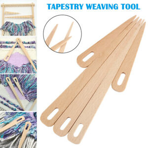 5Pcs-Wood-Hand-Looms-Stick-Weaving-Crochet-Needle-Tapestry-DIY-Crafts-Tool