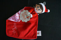 Security Blanket Elf On The Shelf Pink Red Baby My First 1st Doll Mini Lovey