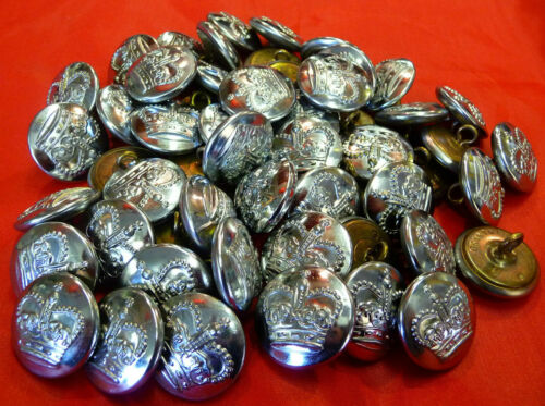 Police Buttons 24 mm x 50