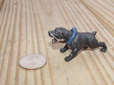 Creativo Rottweiler Ringhiante G Scala 1/ Xviii O 1/24 Scala Accessori Diorama!
