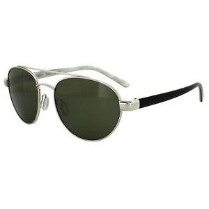 c4b102bb398 Image is loading Serengeti-Sunglasses-Mondello-7776-Shiny-Silver-Black -Ivory-