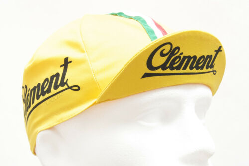 Fixed Gear Retro Italian Made Pro Team Men Road Cycling Cotton Caps Vintage