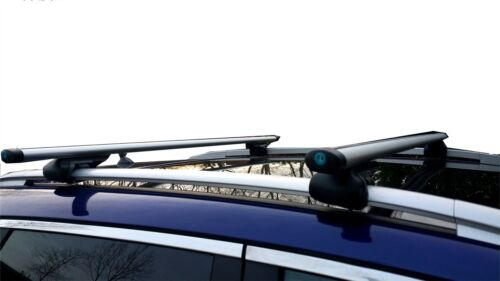 Cross Bars Roof Rack Aluminium Locking fits Rover 75 Tourer MGZTT 2001-2005