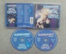 KERRANG METAL KLASSIX GERMAN COLLECTORS EDITION 2 CD SET 1994 MOTÖRHEAD PRIEST