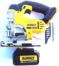 New DeWalt DCS331 20V Cordless Variable Jig Saw,(1) DCB200 Battery 20 Volt Blade