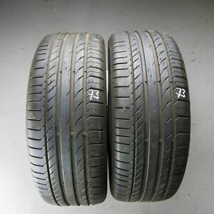 2x-Continental-ContiSportContact-5-SUV-MO-235-50-R18-97V-4015-7-mm-Sommerreifen