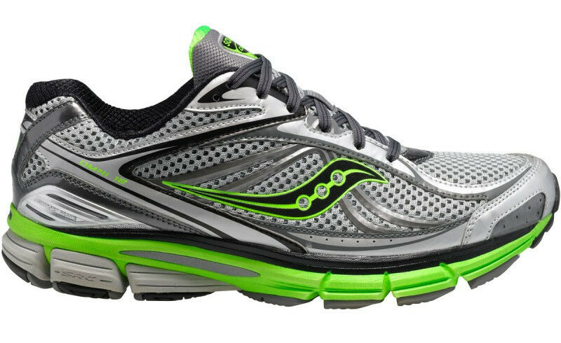 Saucony Omni 12 20206-3 Men's Silver   Green   Black Running shoes