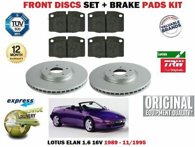 90 /> 91 EBC Replacement Front Vented Brake Discs Ford Fiesta Mk3 1.6 RS Turbo