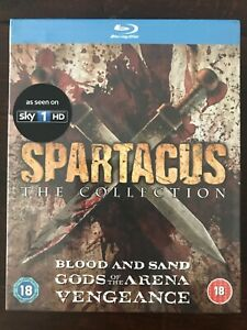 The-Spartacus-Collection-New-And-Sealed-Blu-Ray