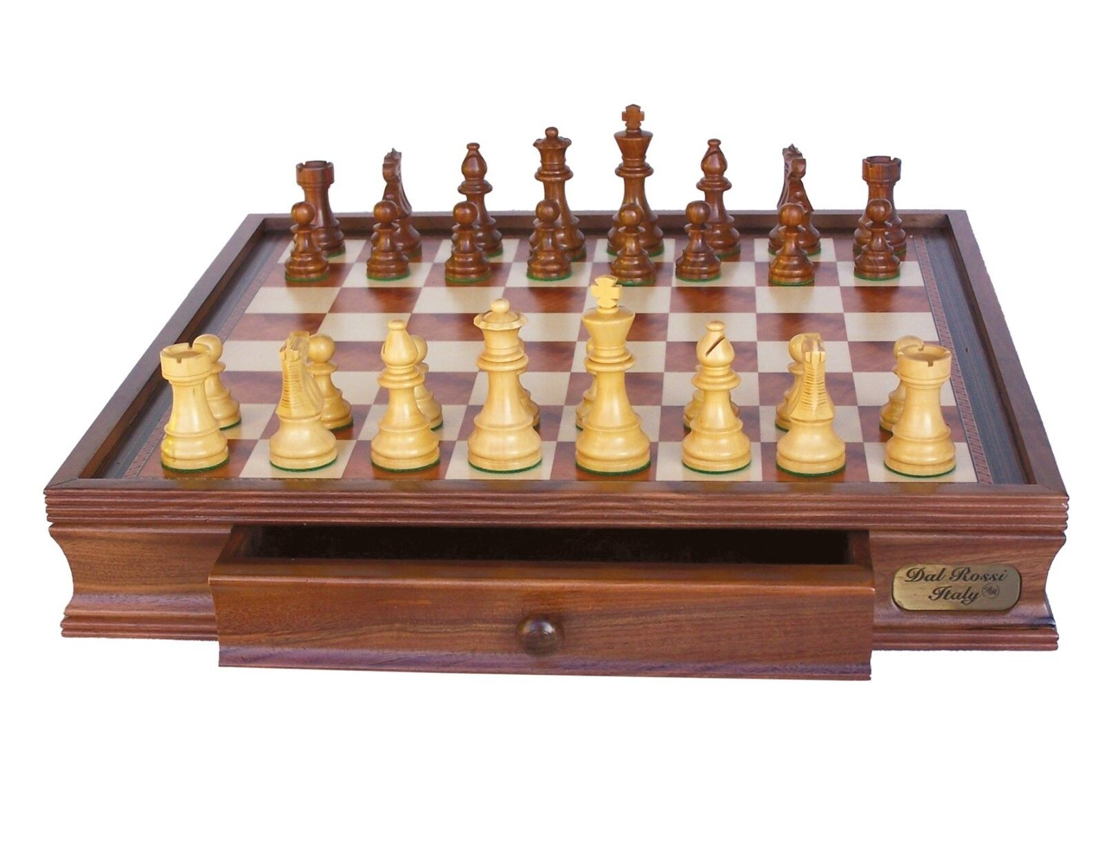 NEW Dal Rossi  Staunton Wooden Chess Set 20  Drawer pieces sold separately
