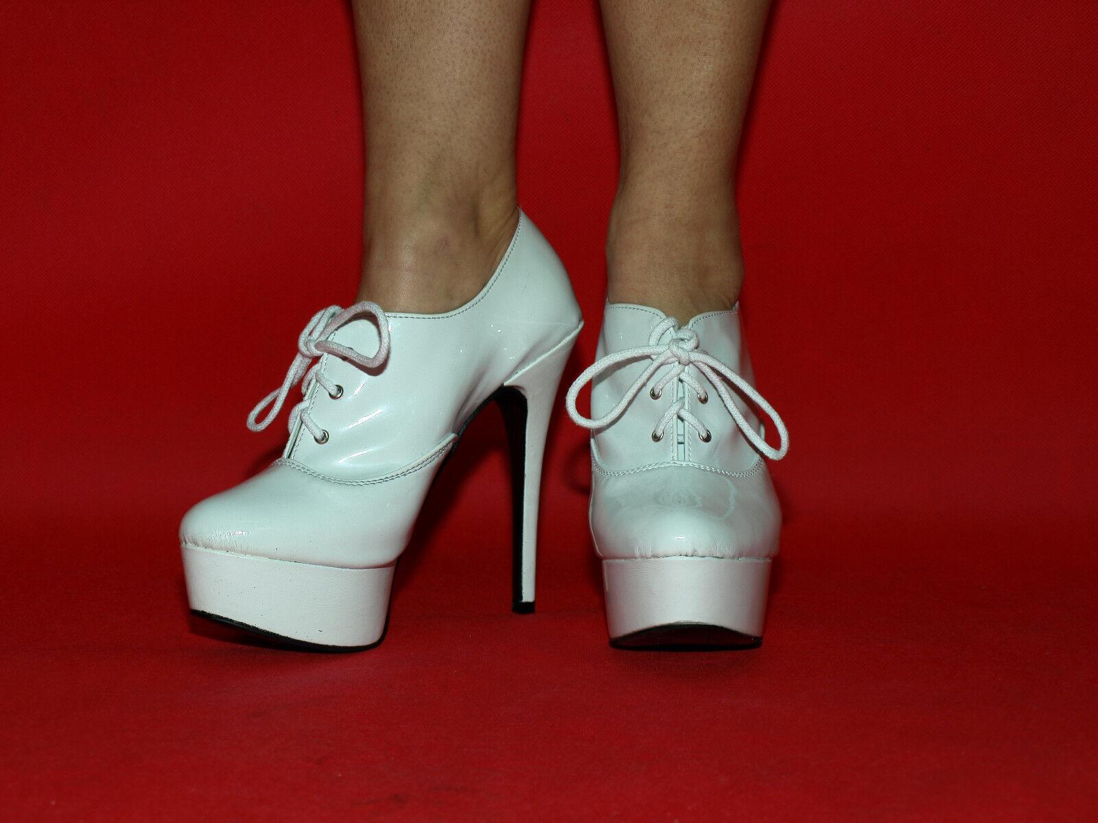 Latex 37 38 39 40 41 42 43 44 45 46 47 Bolingier-Poland heels 15cm FS1366