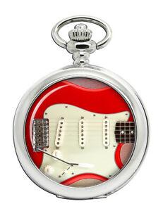 Stratocaster-Gitarre-Taschenuhr