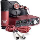 Focusrite Scarlett Studio Digital Recording Interface