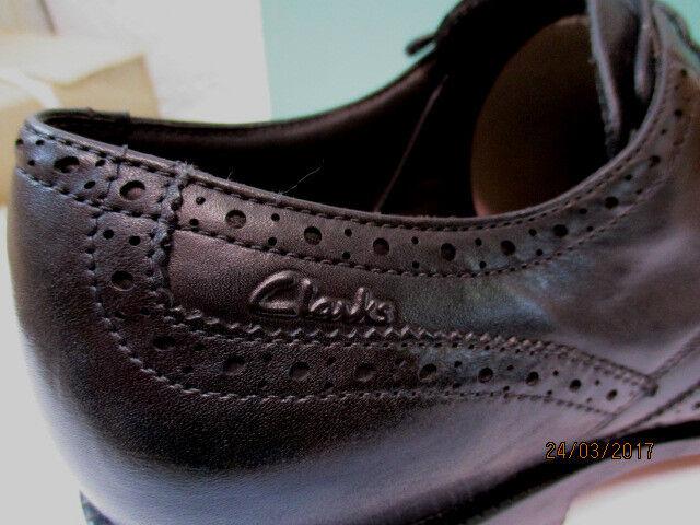Clarks LIMIT Klassischer Herren Business Schuh  DINO LIMIT Clarks  Echtleder Schwarz (G) 26a16a