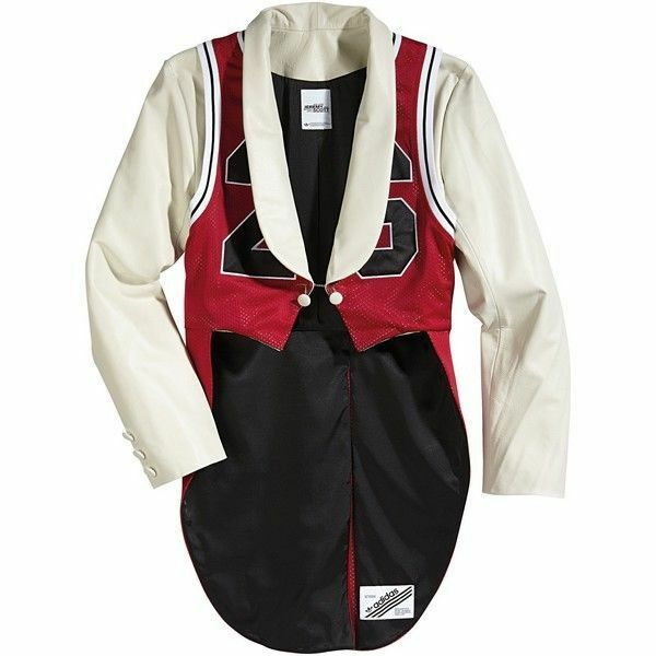 Adidas Jeremy Scott Tuxedo Jersey NEW With Tags 100% Authentic  wings bear panda