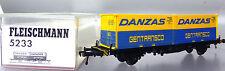 "Fleischmann 5233; Containertragwagen ""Danzas"" in OVP /D279"