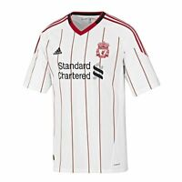 Authentic Junior adidas Liverpool Away Shirt 2010- 2011, Age: 7-14 Years (SB02)