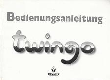 RENAULT TWINGO 1 manuale di istruzioni 1998 MANUALE MANUALE BA