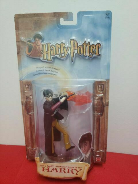 Harry Potter Cast A Spell 6in Action Figure Mattel 2002 Collectibles For Sale Online Ebay