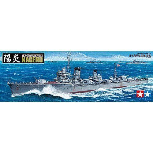 Tamiya 1 350 Ship Series No.32 Japanese Destroyer Kagero Kagero Model Kit 78032